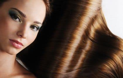 Solutions pour des cheveux brillants